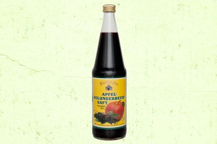 Apfel-Holunderbeer Saft