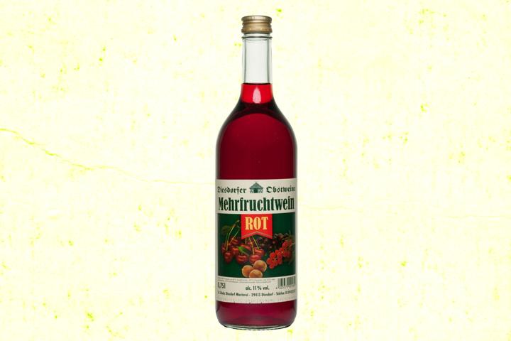 Mehrfruchtwein rot 11 %vol.
