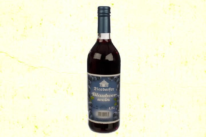 Blaubeerwein Heidelbeerwein 11 %vol.