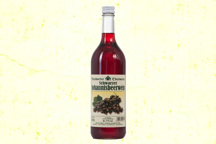 Johannisbeerwein schwarz 11 %vol.
