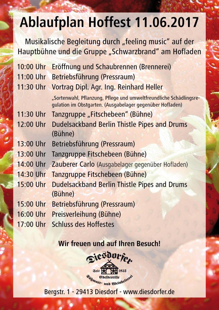 Hoffest – Programm