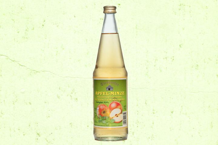 Apfel-Minze Fruchtsaftgetränk