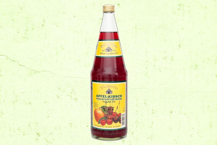 Apfel-Kirsch Fruchtsaftgetränk