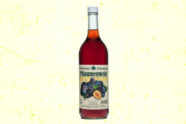 Pflaumenwein Zwetschgenwein 11 %vol.