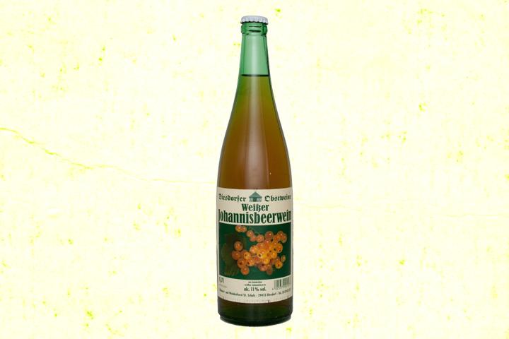 Johannisbeerwein weiß 11 %vol.