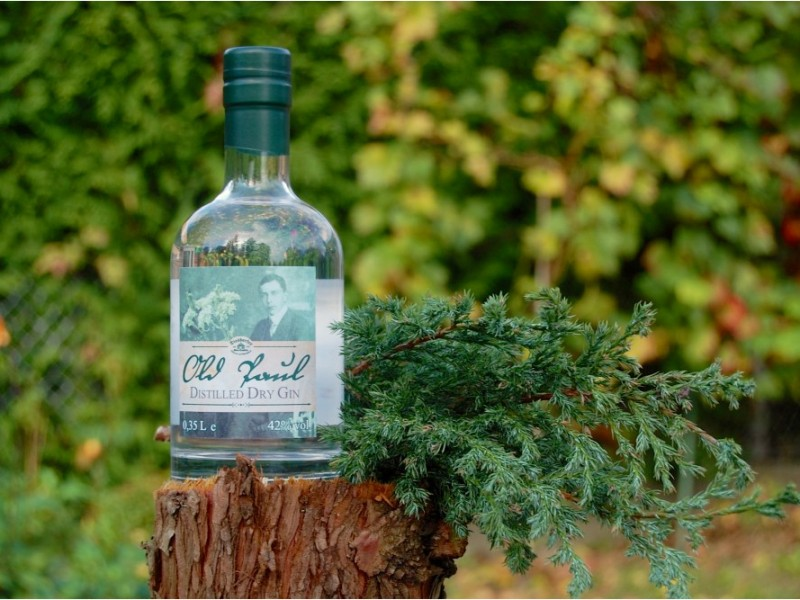 Old Paul Distilled Dry Gin 42 %vol.