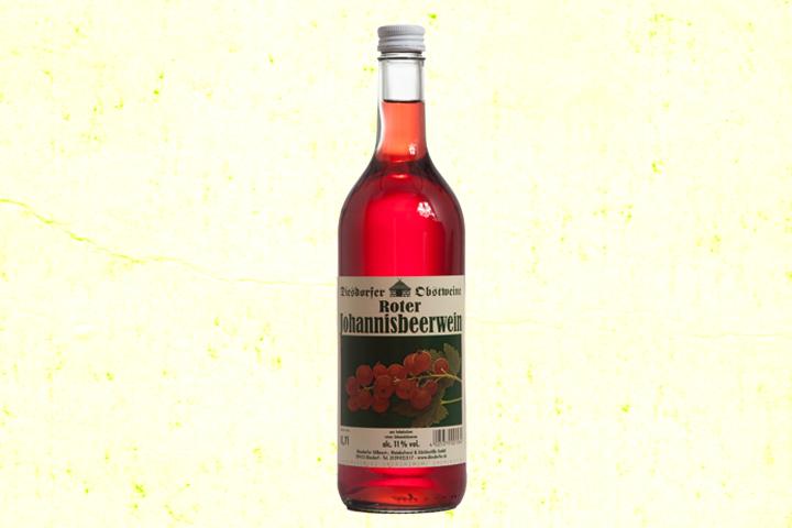 Johannisbeerwein rot 11 %vol.