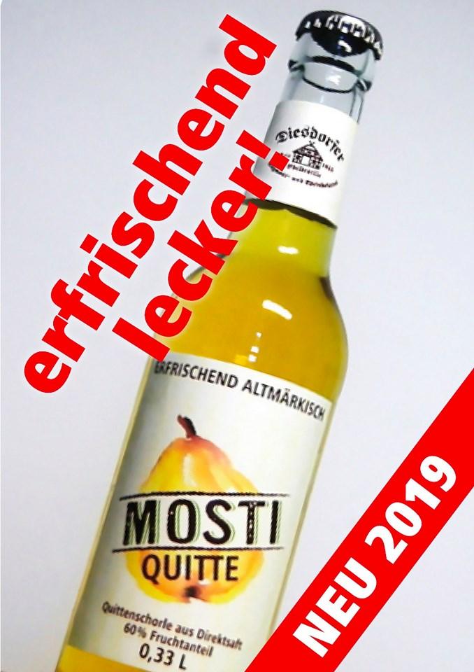 MOSTI Quitte – Erfrischend Altmärkisch!